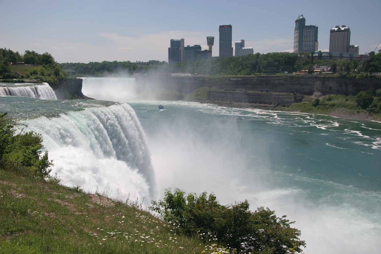 Guyana Wallpaper Kaieteur Falls Niagara Falls Which Side Is Better