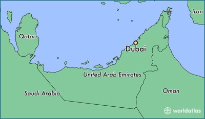 Where is Dubai, The United Arab Emirates? / Dubai, Dubai Map - WorldAtlas.com