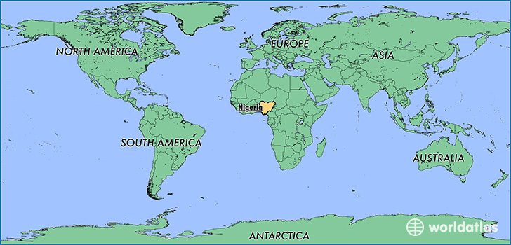 Where is Nigeria? / Where is Nigeria Located in The World? / Nigeria - best of locate places on world map game