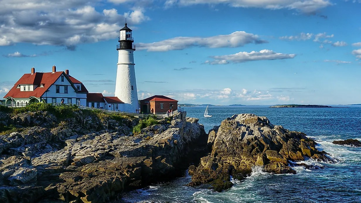 Central Park Fall Wallpaper Portland Head Light Maine Unique Landmarks Around The