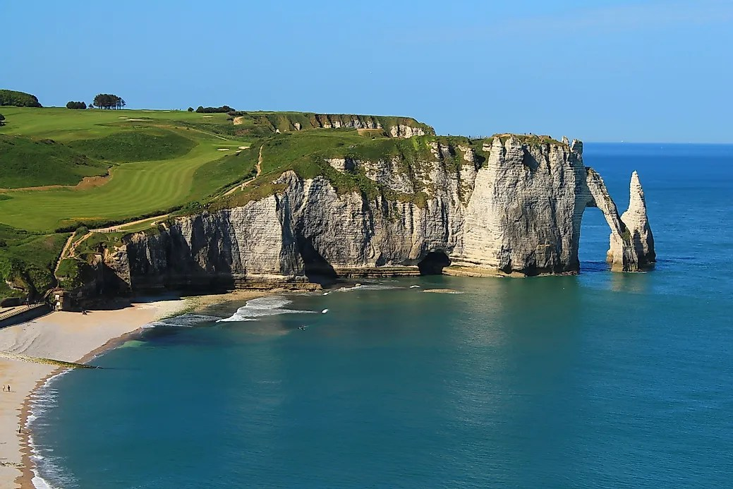 French Fall Wallpaper Sea Cliffs Of 201 Tretat France Unique Places Around The