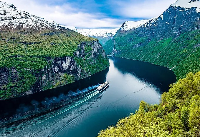 The Deepest Fjords in The World - WorldAtlas