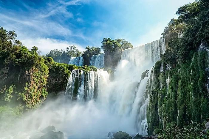 Beautiful Niagara Falls Wallpaper Iguazu Falls Argentina Unique Places Around The World