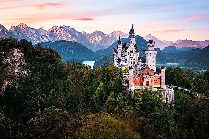 Fall In Central Park Wallpaper Neuschwanstein Castle Germany Unique Places Around The