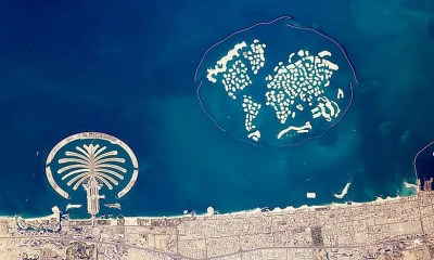 Man-Made Islands In Dubai - WorldAtlas.com