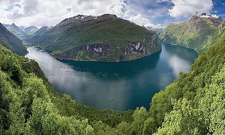 What Is A Fjord? - WorldAtlas - fjord