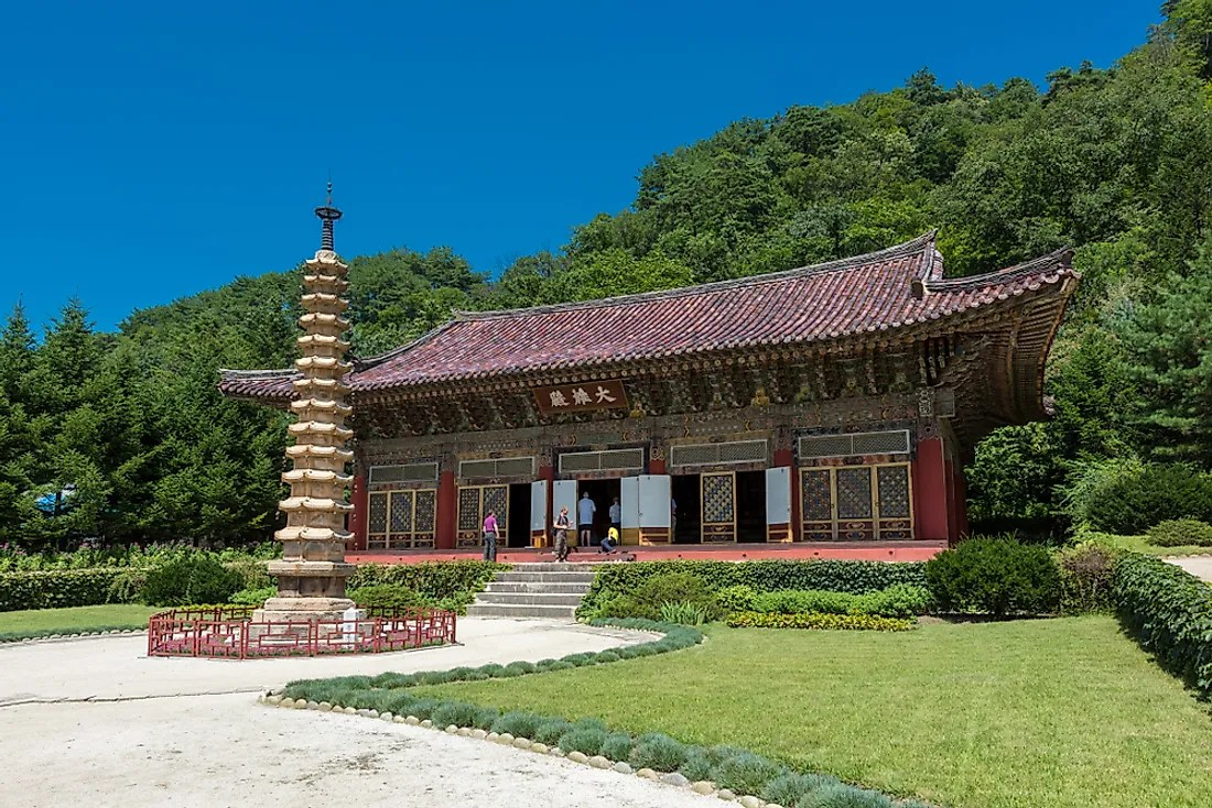 Religious Beliefs In North Korea - WorldAtlas