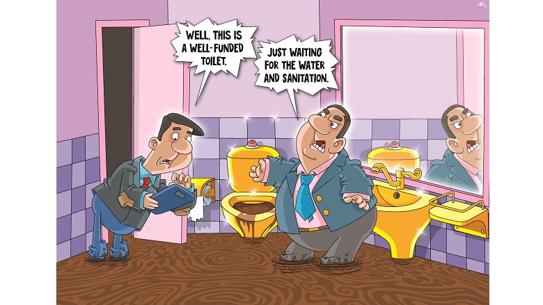 Celebrate 2018 with 12 Cartoons on Water and Sanitation