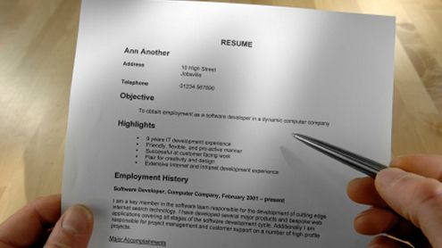 How to Write a good Resume - World Certification Institute - WCI