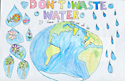 Do Not Waste Water by Anna X., Freemont, CA