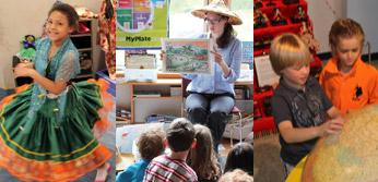 Multicultural programs at World Awareness Children's Museum