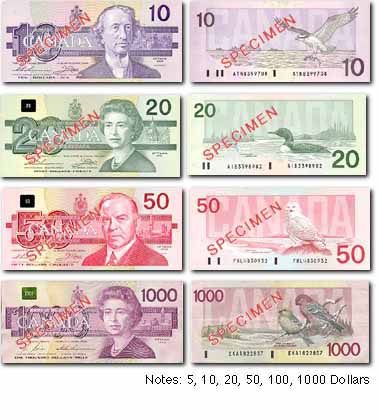 Currency in Montréal, Québec - latest Montréal currency exchange rates with currency converter