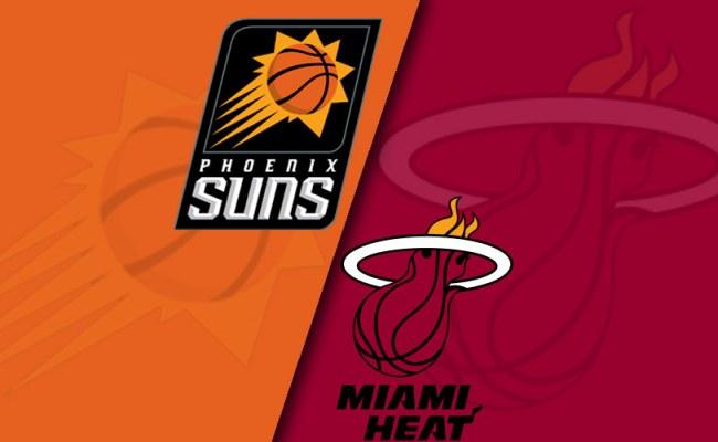 Phoenix Suns Vs Miami Heat Final Score Game 1 Nba 2017 18