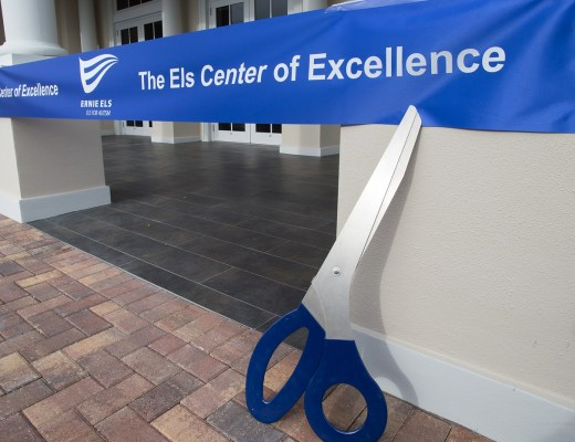 The Els Center of Excellence - Ribbon Cutting Ceremony Credit: David R. Randell Photographics