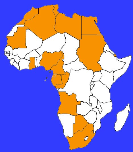 African Continent by RIchest GDP