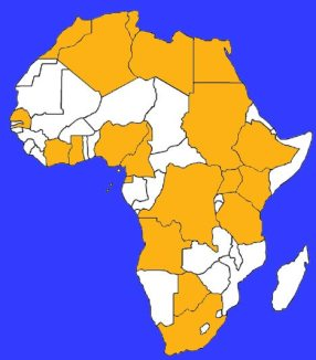 Countries of Largest Economy in Africa