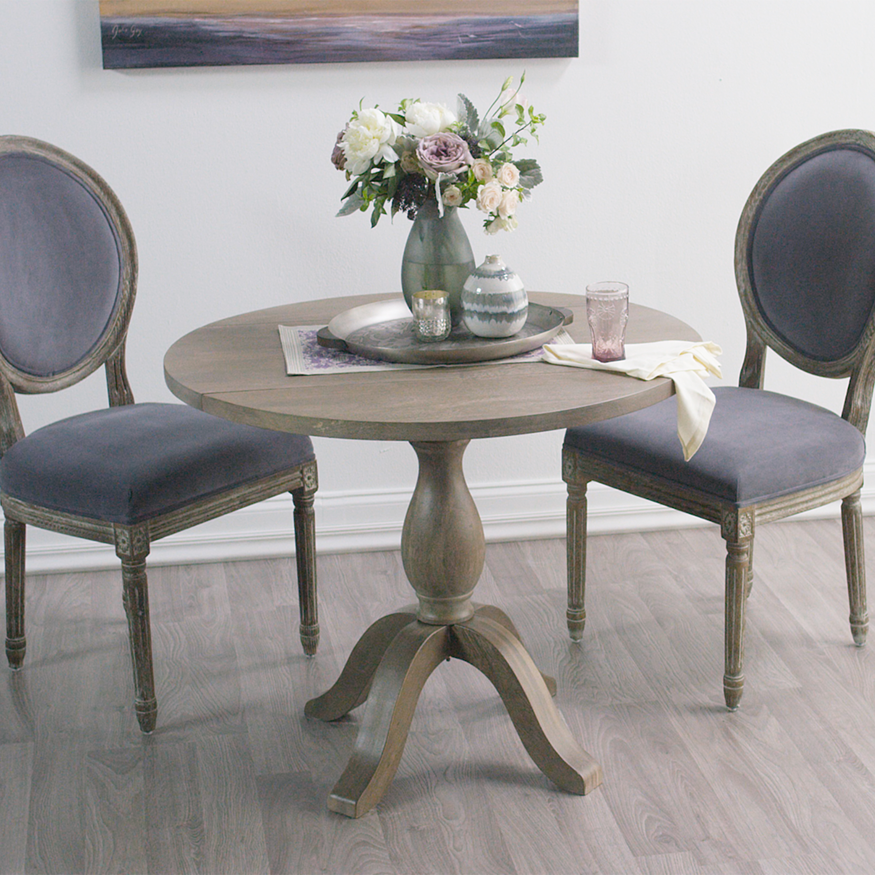 weathered gray jozy drop leaf dining table gray kitchen table