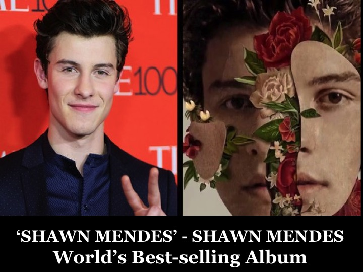 World Music Awards  Shawn Mendes has the World\u0027s best-selling