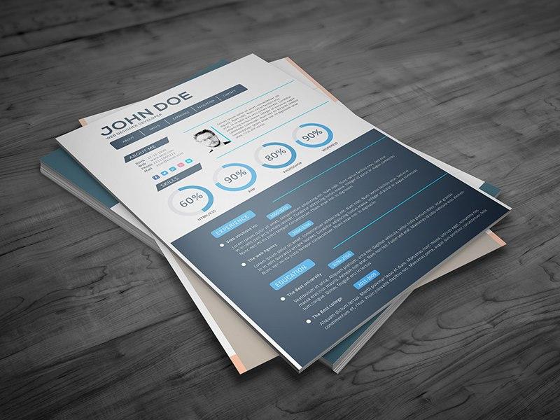 Front-end web developer resume template - Front End Developer Resume