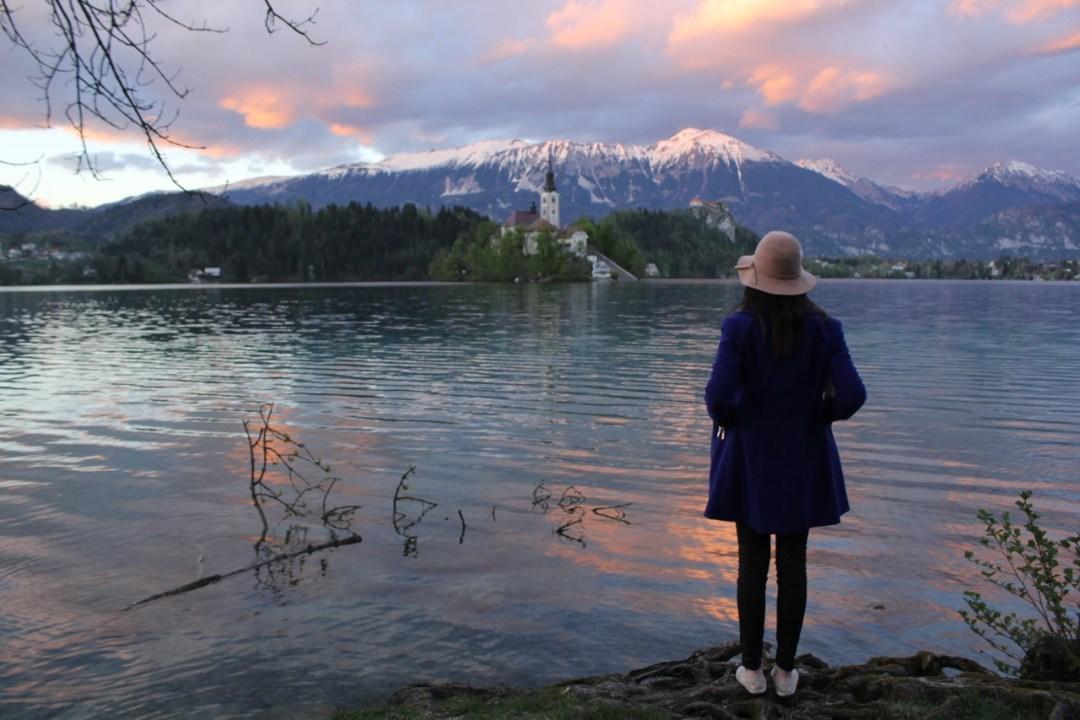 Brooke lake bled slovenia