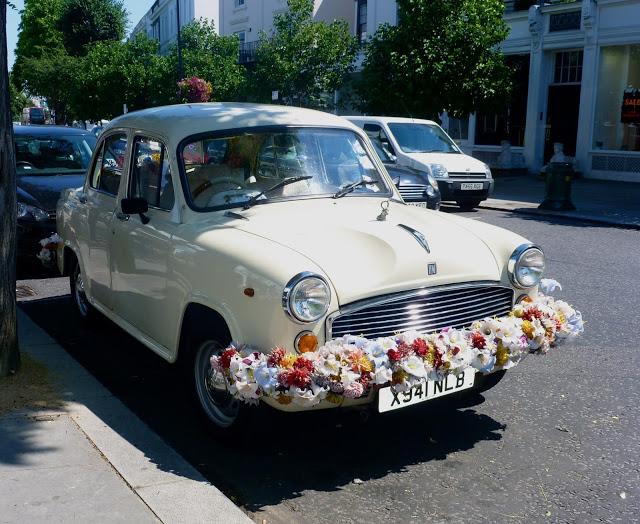 Flower Car Notting Hill