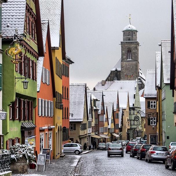 The Cutest German Towns You Should Visit, Dinkelsbuühl