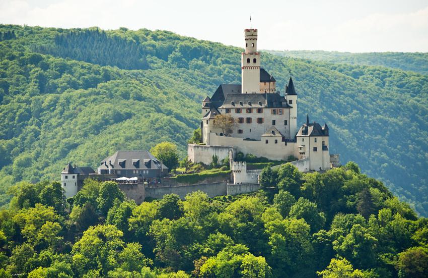 Fairy Tale German Castles, Marksburg Castle