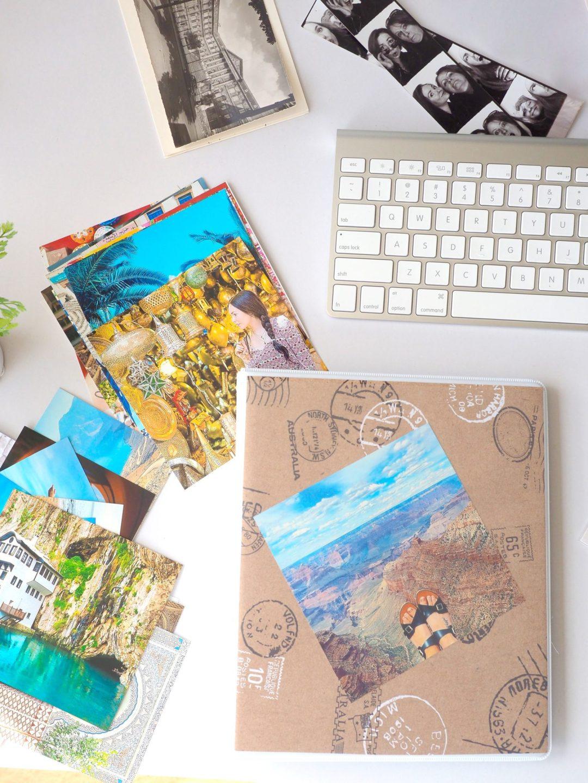 Travel Scrapbook DIY