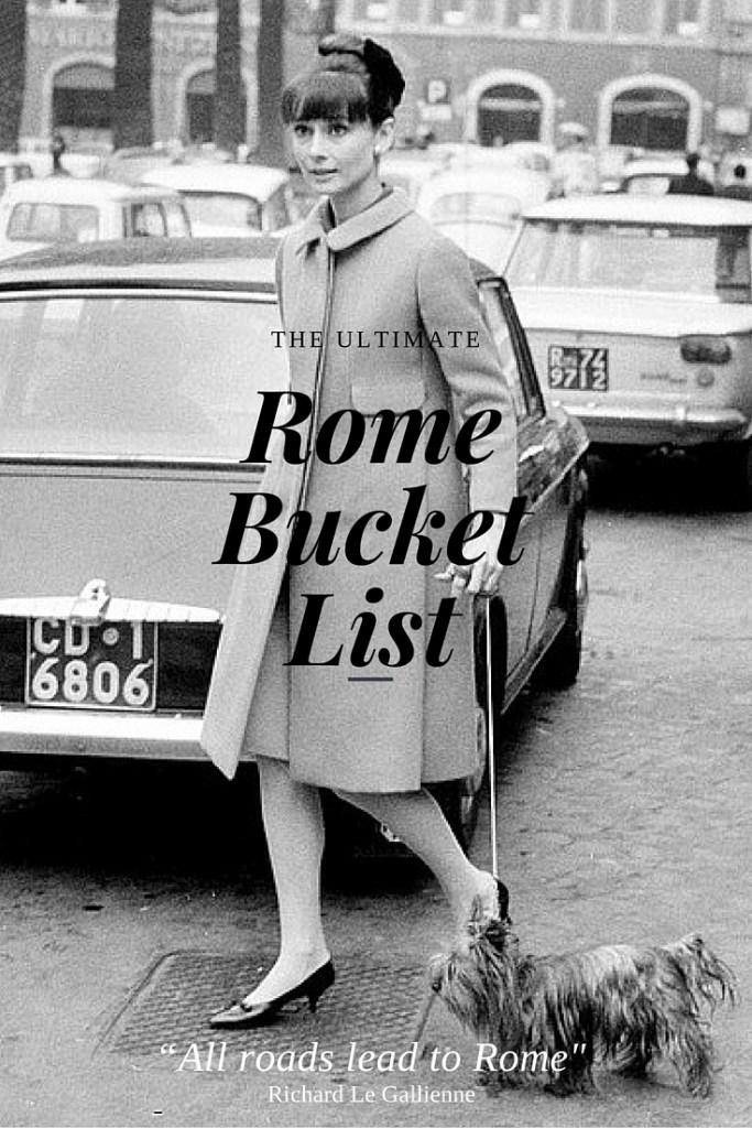 Rome bucketlist