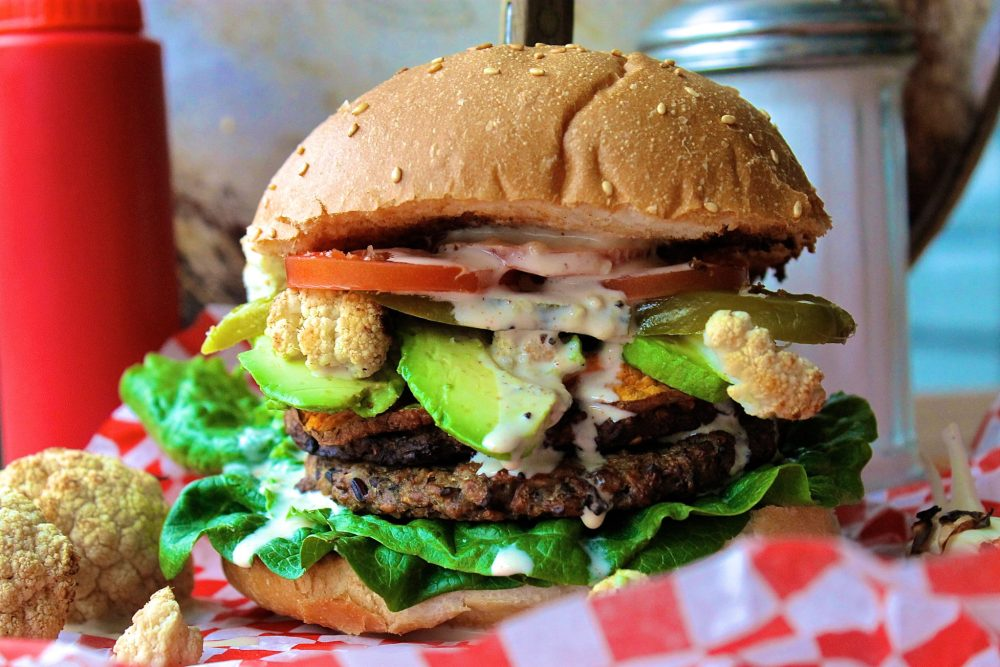 The Ultimate Veggie Burger | WORLD OF WANDERLUSTWORLD OF WANDERLUST