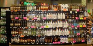 """""""Rum display in liquor store"""" by O'Dea"""