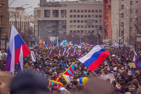 """Moscow Peace March 2014-03-18 15.39.42"" by Okorok - cc 3.0"