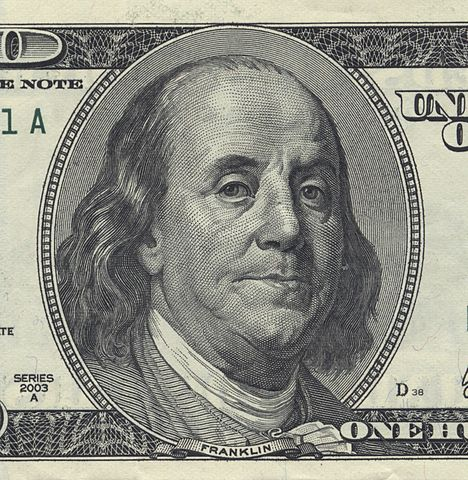 money dollar capitalism Benjamin-Franklin-U.S.-$100-bill