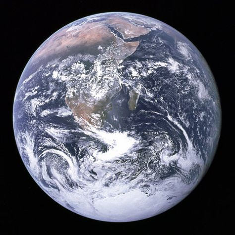 world space planet The_Earth_seen_from_Apollo_17