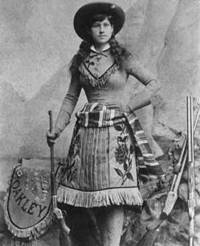 annie oakley wild west gun women