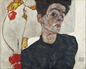 593px-Egon_Schiele_-_Self-Portrait_with_Physalis_-_Google_Art_Project