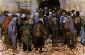 Vincent van Gogh - The State Lottery Office