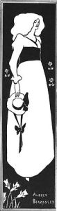 poster by aubrey beardsley for the 'yellow book'
