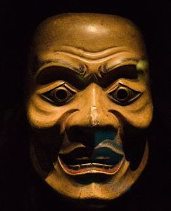 japan mask theater theatre 17th_century_Noh_mask