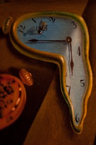 Jimmy Baikovicius flickr Close-up Photo of Salvador Dali's painting 'The Persistence of Memory""