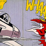 art roy lichtenstein whaam modern pop