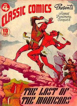 Classics Illustrated, The Last of the Mohicans Issue #4.