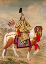 chinese emperor horse china asia