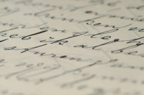 letter writing write ink pen paper cursive calligraphy