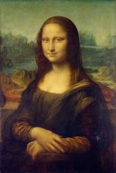 mona lisa art da vinci
