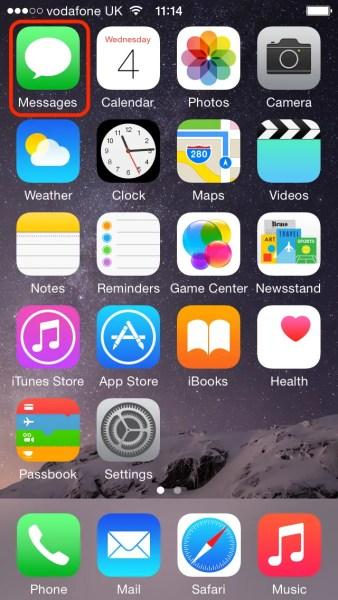 iPhone - Home Screen