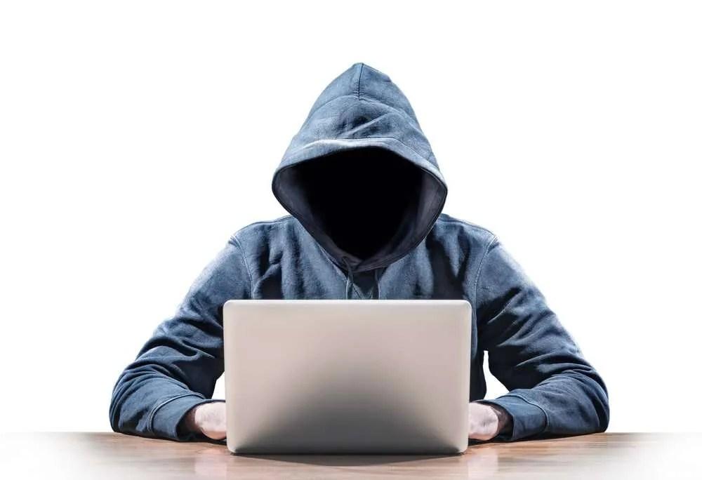 Hacker at a computer - TalkTalk Hacked