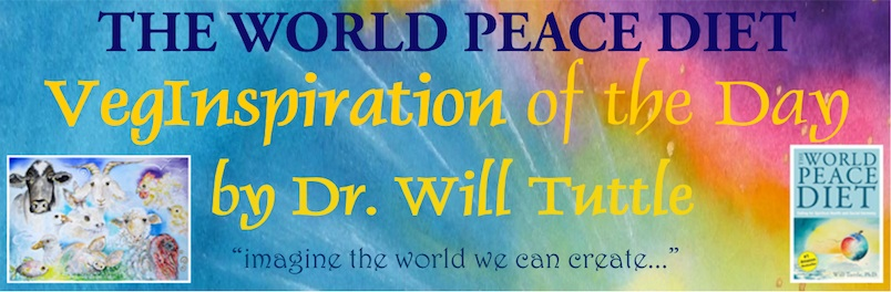 World Peace Diet VegInspiration logo