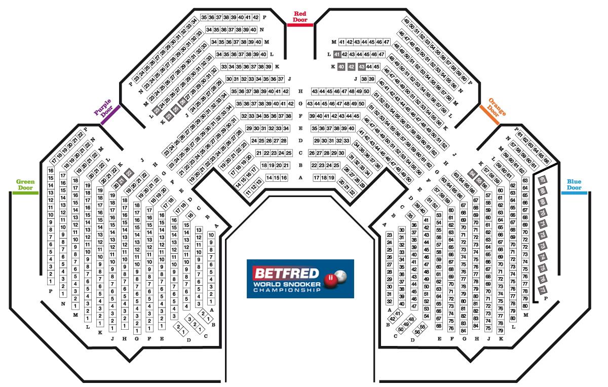 100 Liverpool Echo Arena Floor Plan 100 O2