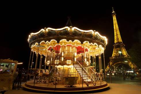 Eiffel Tower Carousel